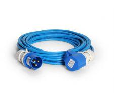 Verlengkabel PVC 10 meter-1,5mm CEE 16amp 230V IP44