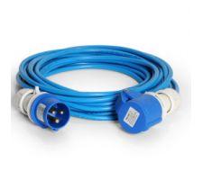 Verlengkabel PVC 10 meter-2,5mm CEE 16amp 230V IP44