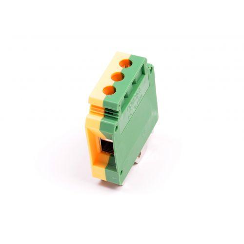 Aardklem 16mm geel/groen