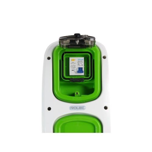 Wallpod inzetstuk aardlekautomaat 2pol B10 / 30mA