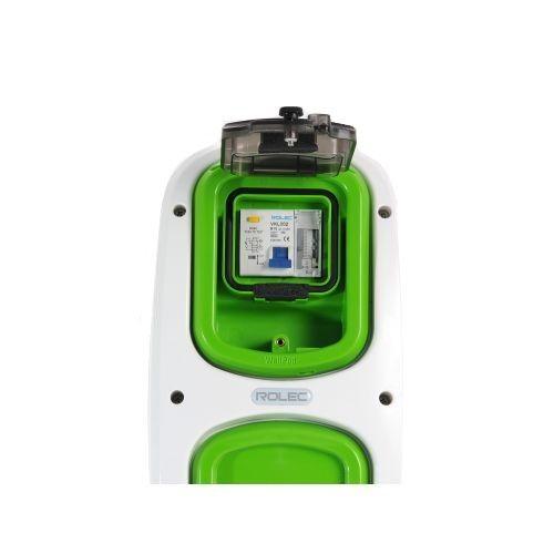 Wallpod inzetstuk aardlekautomaat 2pol B10 / 30mA met tijdkl