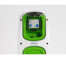 Wallpod inzetstuk 16A installatieautomaat en aardlekschakela