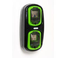 Wandmodel 4: -aardlekautomaat B10/30mA + tijdklok - 13A (UK)