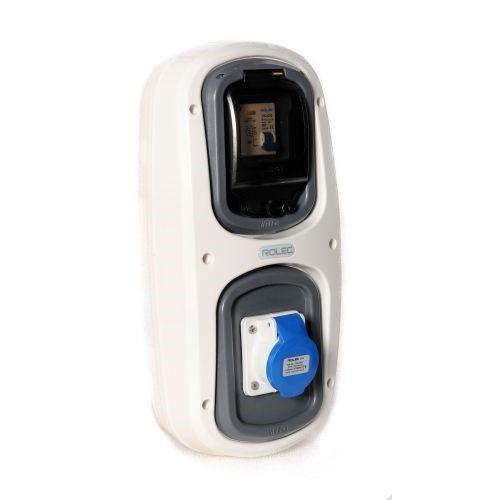 Wandmodel 5: -aardlekautomaat B16/30mA - CEE 16A