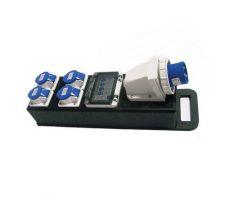 Mini CubiServ 32A 230V IP44 en 4 x 16A 230V IP67(4mm)