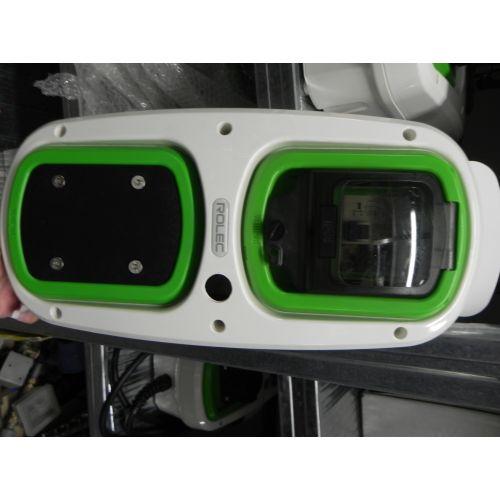 Rolec Wallpod aardlekautomaat + dicht inzetstuk