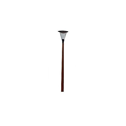 Prunus straatverlichting LED 3m mast