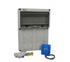 Aansluitkast Front 1 wcd CEE 16A Kit IP65