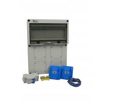Aansluitkast Front 2 wcd CEE 16A Kit IP65
