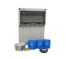 Aansluitkast Front 3 wcd CEE 16A Kit IP65