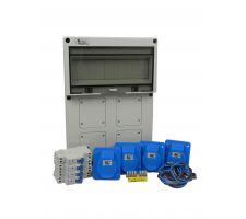 Aansluitkast Front 4 wcd CEE 16A Kit IP65