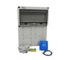 Aansluitkast Front 1 wcd CEE  16A/ 1x kWh meter Kit