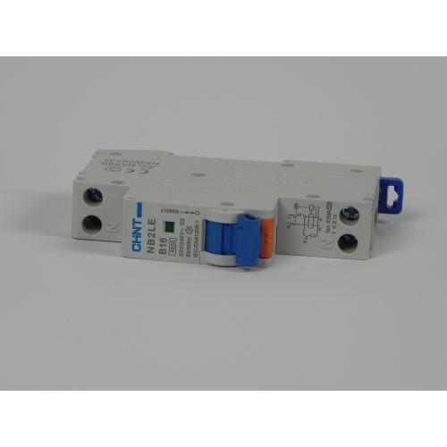Aardlekautomaat 1P+N B16 230V 30mA 4,5kA