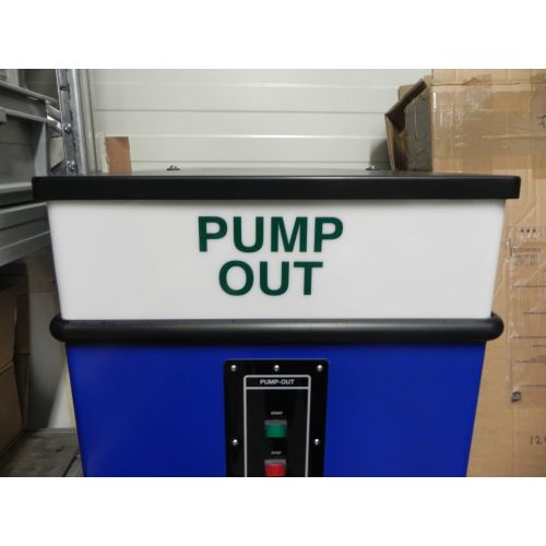 Behuizing pump out station (leeg)