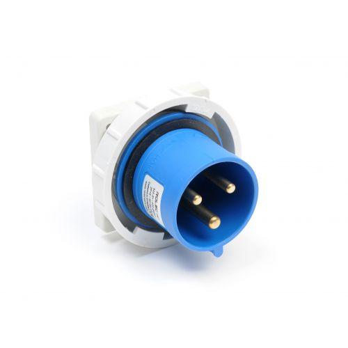 CEE inbouw toestelcontactdoos 16amp 400V 5pol IP67