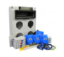 Aansluitkast Front 4 wcd CEE 16A Kit IP44