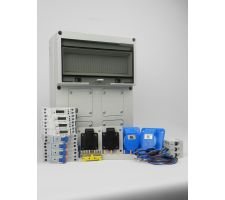 Aansluitkast Front 3x wcd cee 16A Kit