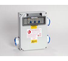 Aansluitkast 3 WCD met kWh meter