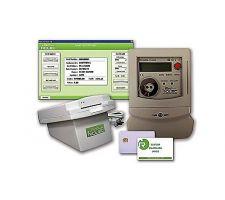 Smartkaart meter en software systeem